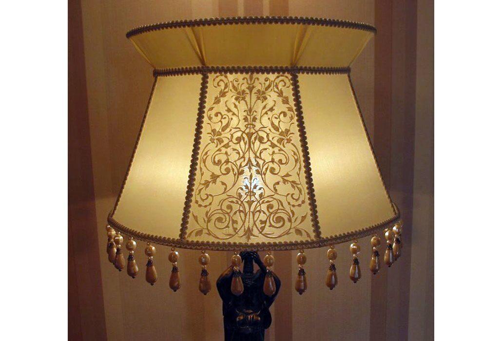 Как сделать абажур для настольную лампу своими руками